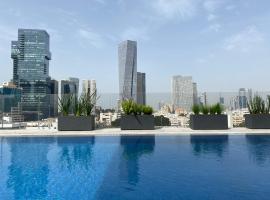 Jo SHTIBEL Tel Aviv with Rooftop Pool, hotel near Ben Gurion Airport - TLV, Tel Aviv