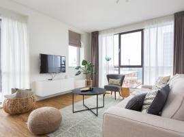 Modern apartment close to the beach and the sea, villa in Scheveningen