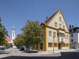 JOESEPP´S HOTEL am Hallhof, Hotel in der Nähe vom Flughafen Memmingen - FMM,