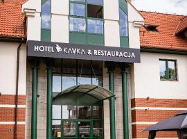 Hotel KAVKA & Restauracja, budget hotel in Czersk Pomorski