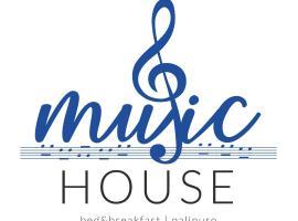 Music House, beach hotel in Palinuro