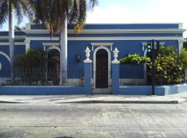 Künük Hotel Boutique, hotel in Mérida