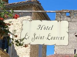 Hotel Le Saint Laurent, hotel in Saint-Laurent-des-Arbres