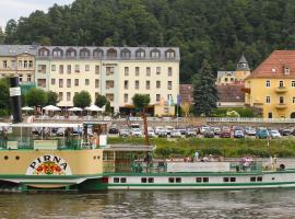 Elbhotel Bad Schandau, Hotel in Bad Schandau