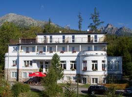 Penzión Poľana, ubytovanie bed and breakfast vo Vysokých Tatrách