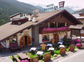 Hotel Miravalle, hotel poblíž významného místa Monte Sponda, Valdidentro