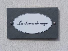 Les dames de nage, apartment in Honfleur
