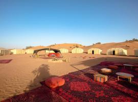 Erg Lihoudi standard, luxury tent in Mhamid