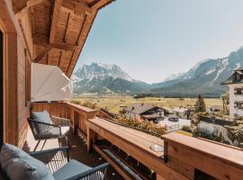 Haus Alpenhof, family hotel in Lermoos