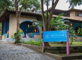 Pousada Santo Mar, hotel in Arraial d'Ajuda