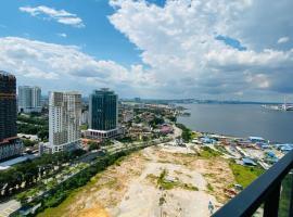 Harzaf Homestay at R&F Princess Cove, hotel near Singapore Zoo, Johor Bahru
