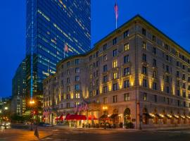 Fairmont Copley Plaza, hotel in Back Bay, Boston