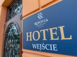 RESOVIA RESIDENCE HOTEL*** – hotel w mieście Rzeszów