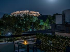 Acropolis Vision, hotel near Filopappos Hill, Athens