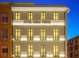 Boutique Hotel Carlo Felice, hotel near Cagliari Port, Cagliari