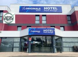 The Originals City, Hôtel Pont Rouge (ex inter-hôtel), Carcassonne, hotel near Pont Rouge Commercial Zone, Carcassonne