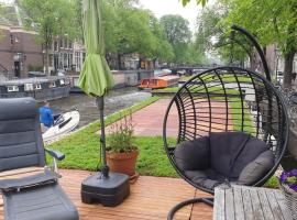 Houseboat Prinsengracht, boot in Amsterdam