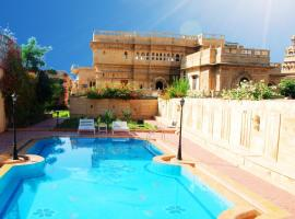 WelcomHeritage Mandir Palace, hotel with pools in Jaisalmer