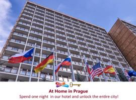 Hotel Krystal, hotel near Vaclav Havel Airport Prague - PRG, Prague