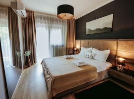 Charlotte Residence, hotel a Nymphaea Aquapark környékén Nagyváradon