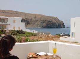 V-rooms in Milos Cyclades, hotel in Pollonia