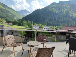 Appartement Strolz, family hotel in Bichlbach