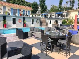 Hotel la piscine, hotel near Cabourg Beach, Villers-sur-Mer