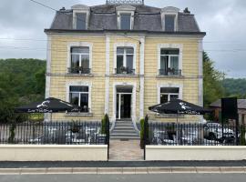 Le point de chute、Les Hautes-Rivièresのホテル
