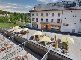 Hotel Element, hotel in Lipno nad Vltavou