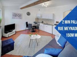 Le Jos - 2min palais-100m mer-Verrière Côte d'Azur, hotel in Cannes