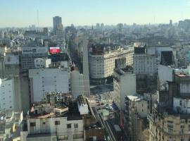 Que mejor vista del Obelisco piso 24 a la calle Corrientes, apartamento em Buenos Aires