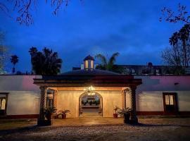 Hotel Spa Hacienda Real la Nogalera, hotel en Tequisquiapan