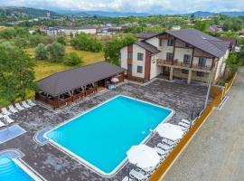 Sofion hotel&resort, отель в городе Солотвино