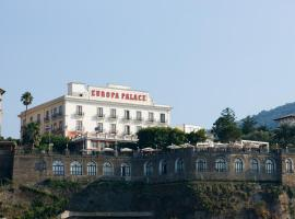 Grand Hotel Europa Palace, hotel in Sorrento