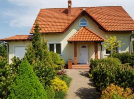 Dom Wakacyjny Z Widokiem Na Jezioro w Borzechowie, budget hotel in Borzechowo