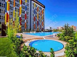 Havuz olanığana sahip güzel daire, hotel near Antalya Airport - AYT,