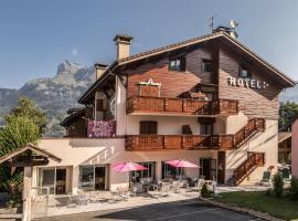 Chalet Hôtel des 2 Gares, hôtel à Saint-Gervais-les-Bains