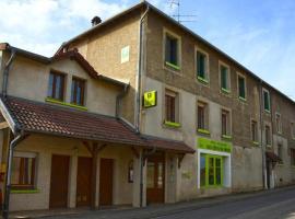HOTEL RESTAURANT LES COTES DE MEUSE、Saint-Maurice-sous-les-Côtesのホテル