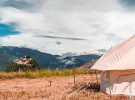 Lodg'ing Destination Nature Ariège, luxury tent in Lordat