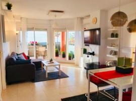 Sunny App. Sea view 2.bed rooms @Riviera- Mijas, lägenhet i Mijas