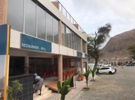 Hotel Cachoeira Tarrafal, hotel in Tarrafal