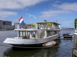 Stunning boat with a view, self catering accommodation in Amsterdam