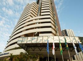 Lindo Flat Frente ao Mar no Hotel de Luxo Blue Tree Towers, hôtel à Fortaleza