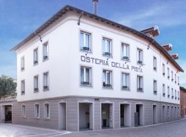 Hotel Osteria della Pista dal 1875, hotel Casorate Sempionéban