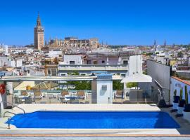Hotel Bécquer, hotel in Seville