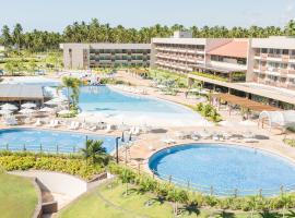 Japaratinga Lounge Resort - All Inclusive, family hotel in Japaratinga