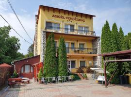 Abigél Vendégház, hotel Miskolctapolca Barlangfürdő környékén Miskolctapolcán