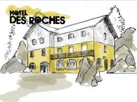 Hôtel Restaurant Des Roches、サーレのホテル