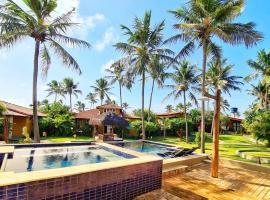 Pousada Spa dos Amores, hotel with pools in São Miguel do Gostoso