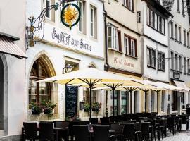 Hotel Sonne, hotel in Rothenburg ob der Tauber